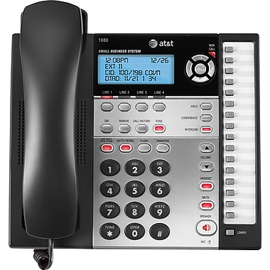 AT&T – Téléphone haut-parleur à 4 lignes 1080