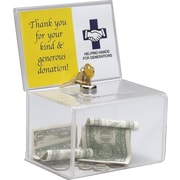Staples® Ballot/ Coin Box