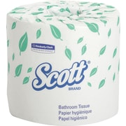 Scott® 100% Recycled Premium Bath Tissue Rolls, 2-Ply, 20 Rolls/Case