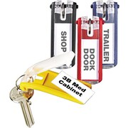 Durable Key Tags 24 Pack, Assorted Colors
