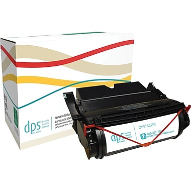 Diversity Products Solutions by Staples™ Reman Laser Toner Cartridge, Lexmark T520/T522, High Yield