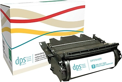 Diversity Products Solutions by Staples™ Remanufactured Toner Cartridge, Lexmark T640 (DPST640R), Black