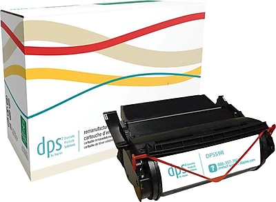 Diversity Products Solutions by Staples Reman Laser Toner Cartridge; Lexmark 1382920, High Yield