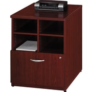 "Bush® Westifield Collection 24"" Storage Cabinet, Mahogany"