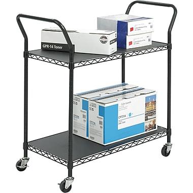 Safco® - Chariot utilitaire en fil métallique