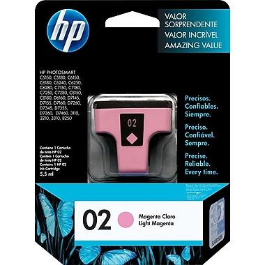 HP 02 Cartouche d'encre magenta clair d'origine (C8775WN)