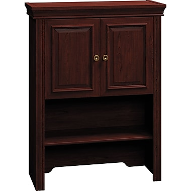 Bush Business Syndicate 30W Lateral File Hutch, Harvest Cherry
