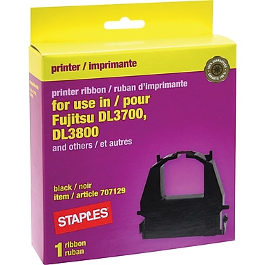 Staples® Fujitsu 16605 Compatible Printer Ribbon