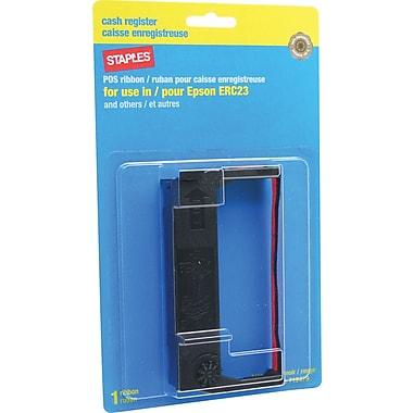 Staples® - Ruban d'impression pour imprimantes Epson, ERC-23