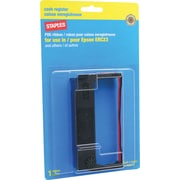 Staples® Epson Compatible ERC-23 Black/Red Printer Ribbon