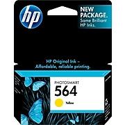 HP 564 Yellow Standard Yield Ink Cartridge (CB320WN#140)