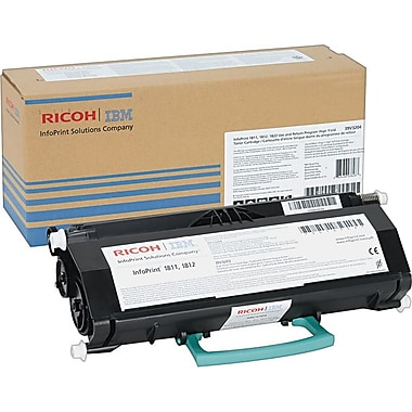 InfoPrint 39V3204 Return Program Black Toner Cartridge