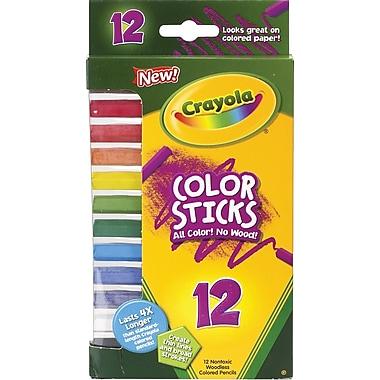 Crayola® Color Sticks Pencils, 12/pack