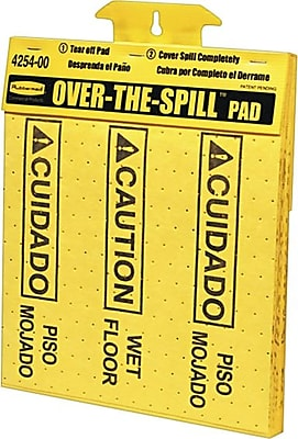 """""Rubbermaid """"""""Over-The-Spill"""""""" Pad Tablet, 20/Pack"""""" 847623"