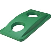 Rubbermaid Vented Slim Jim® Lid, Green