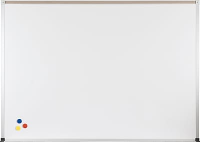 Porcelain Steel Whiteboard with ABC Trim 4X12