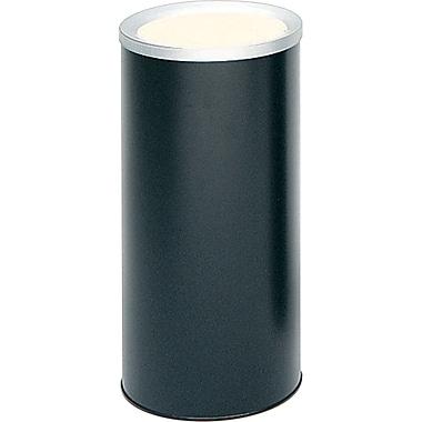SafcoMD – Urne pour cendres, noir, 3 gallons