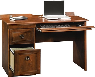 Sauder 409331 Arbor Gate Mobile Lifestyle Computer Desk, Cherry