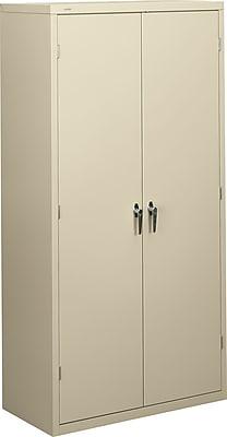 HON Brigade Storage Cabinet, 5 Adjustable Shelves, 18-1/8