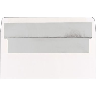 Great Papers® Silver Lined White #10 Envelopes, 50/Pack