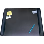 "Artistic Executive 20"" x 36"", Desk Pad, Cushioned Side Panels, Matte Black (4138-6-1)"