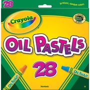 Binney & Smith Crayola® Oil Pastels, Assorted Colors, 28/Pk