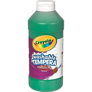 Crayola® Artista II Washable Tempera Paint, Green, 16 oz