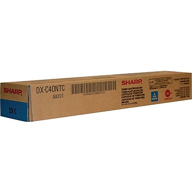 Sharp Cyan Toner Cartridge (DX-C40NTC)