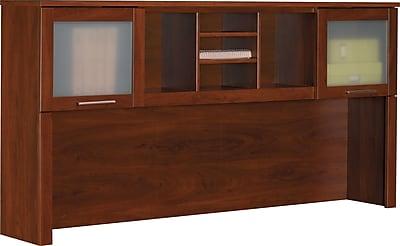 Bush Furniture Somerset 71W Hutch Hansen Cherry WC81711 Staples