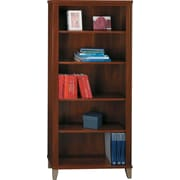 Bush Furniture Somerset 5 Shelf Bookcase, Hansen Cherry (WC81765)