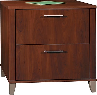Bush Furniture Somerset Lateral File Cabinet, Hansen Cherry (WC81780) 661608