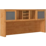 Bush® Somerset Collection Hutch, Maple Cross