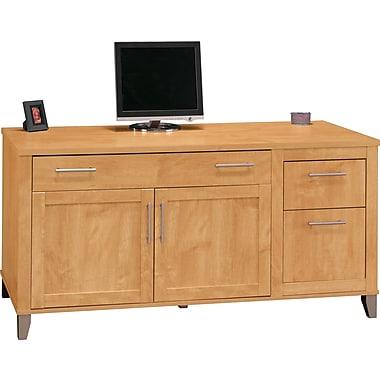 Bush Furniture Somerset 60W Computer Credenza, Maple Cross (WC81429K)