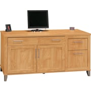 Bush Furniture Somerset 60W Computer Credenza, Maple Cross (WC81429K)