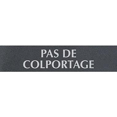 Headline Sign® - Affiche « PAS DE COLPORTAGE », français