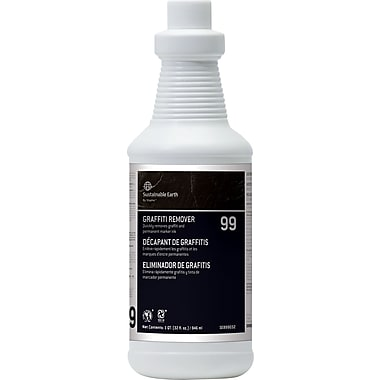 Sustainable Earth by Staples® Graffiti Remover #99, 32 oz.