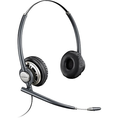Plantronics hw301n encorepro wired office telephone headset with noise canceling staples - Phone headsets for office ...