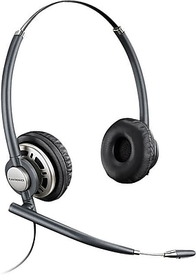 Plantronics Encore Pro HW720 Part#78714-101 Professional Wired Office Headset with Noise Cancelling Mic