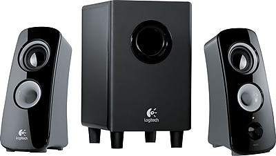 Logitech Z323 30W Speakers and Subwoofer, Black (980-000354)