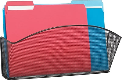 SAFCO Onyx Mesh Wall Files Legal Size