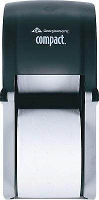 Georgia-Pacific® Coreless Vertical 2-Roll Bathroom Tissue Dispenser