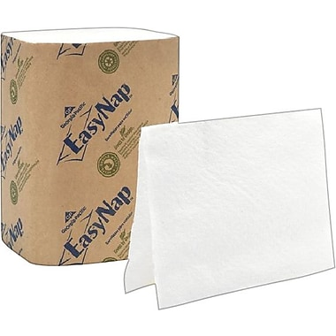 EasyNap® 100% Recycled Embossed Paper Dispenser Napkins, 1-Ply, 6,000/Case