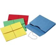 Pendaflex Colored Expanding Wallets w/Elastic Cords, Letter, Assorted Colors
