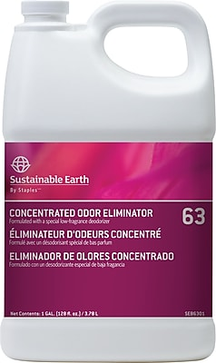 Sustainable Earth by Staples Odor Eliminator #63, 1 gal. (SEB6301-CC)