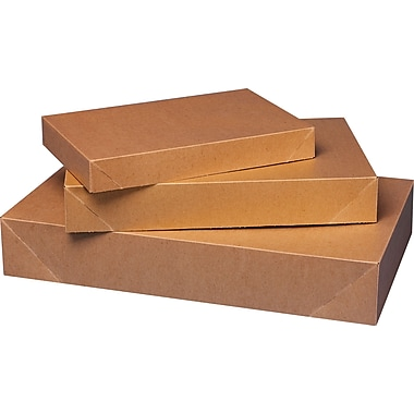 2-Piece Apparel Boxes, Kraft, 17