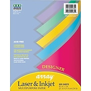 Pacon Array Recycled Designer Colors Paper, 24 lb., 500 Sheets/Rm