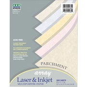 """Pacon Array Recycled Colored Parchment Paper, 8 1/2"""" x 11"""", 24 lb, 500 Sheets/Rm"""