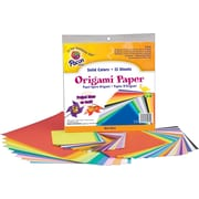 Pacon Origami Paper, Assorted Colors, Assorted Sizes, 55 Sheets/Pk