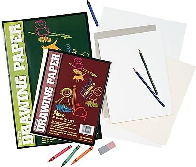 Pacon® Drawing Paper, Mediumweight, 18x24