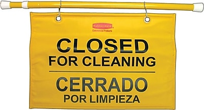 Rubbermaid® Commercial Site Safety Hanging Sign, 50